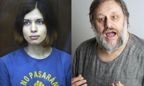 Nagyezsda Tolokonnyikova (Pussy Riot) börtönlevelezése Slavoj Žižekkel