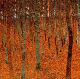 Gustav-Klimt-Beech-Forest-I-Oil-Painting