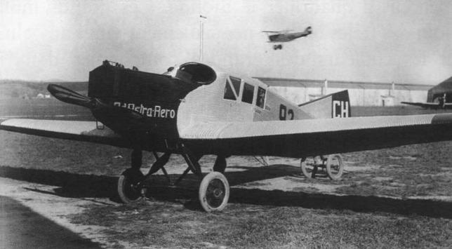 Junkers F13 Ad Astra Radó