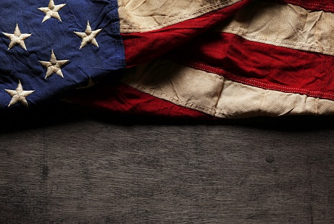 39789261 - old and worn american flag for memorial day or 4th of july