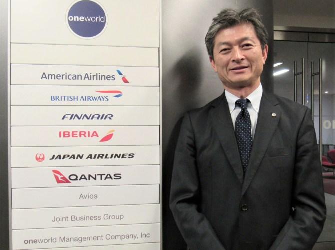 日本航空株式会社 JAPAN AIRLINES 米州地区支配人 森岡 清人 氏