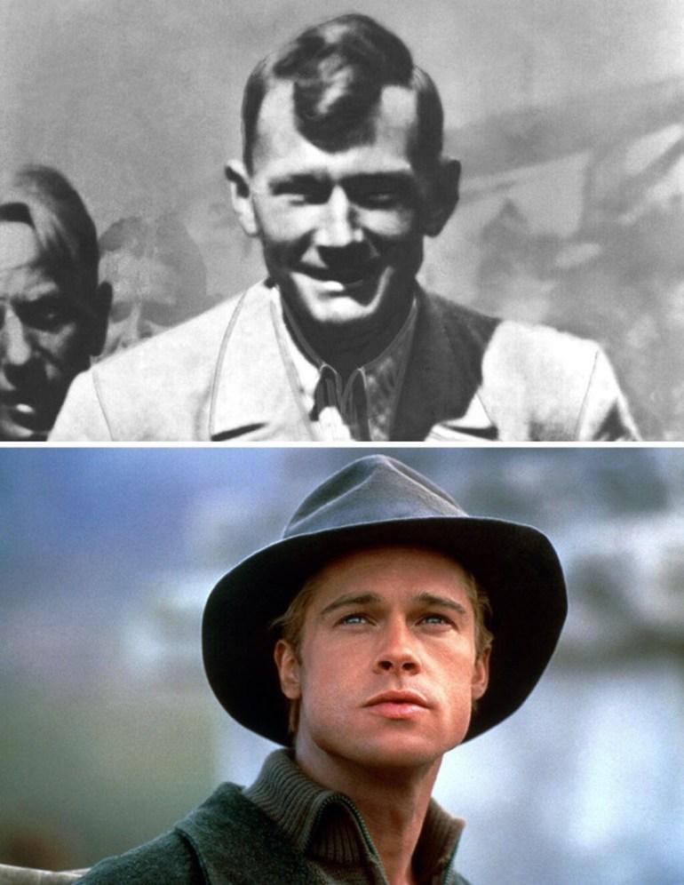 Heinrich Harrer osztrák hegymászó életét dolgozta fel a Hét év Tibetben c. film, melynek a főszerepében Brad Pitt játszott.