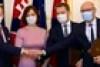 Aláírták a koalíciós szerződést