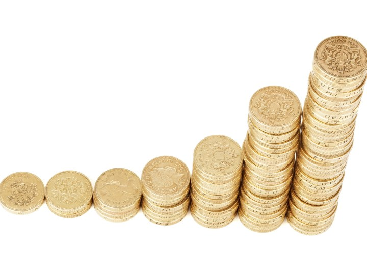 Pound Coins Compounding Interest