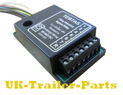 Gm 7 Way Trailer Plug Wiring Diagram 7 Way Universal Bypass Relay Wiring Diagram Uk Trailer Parts