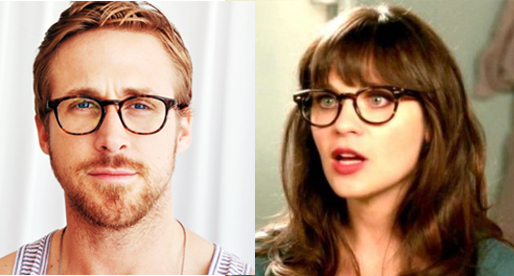 0f17a18beb Hipster Glasses – Ryan Gosling   Zooey Deschanel