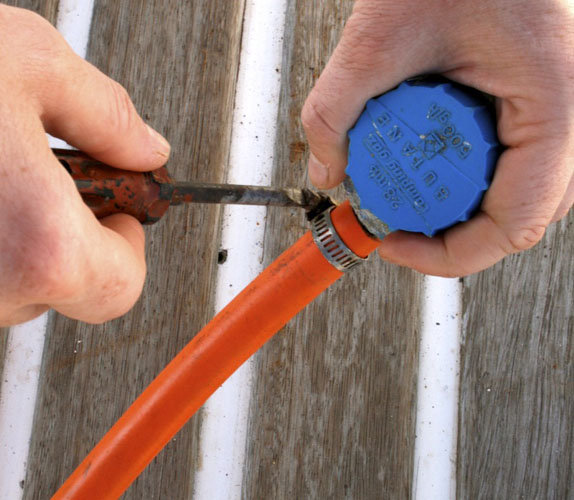 Gas safety afloat – inspect and replace