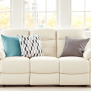 7 Beautiful White Leather Sofas For Your Living Room
