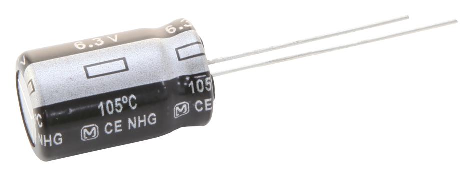 hight resolution of eeufr1c102b electrolytic capacitor