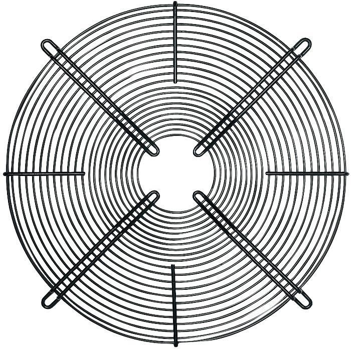 LZ22 EBM-PAPST, Fan Finger Guard, Grille, Fans