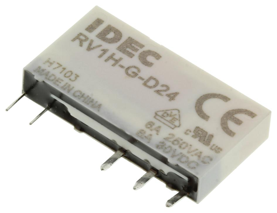 hight resolution of rv1h g d24 relay