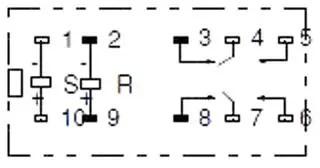 G2RK-2-DC24 OMRON, Power Relay, DPDT, 24 VDC