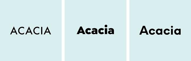 how to design logo sans serif fonts