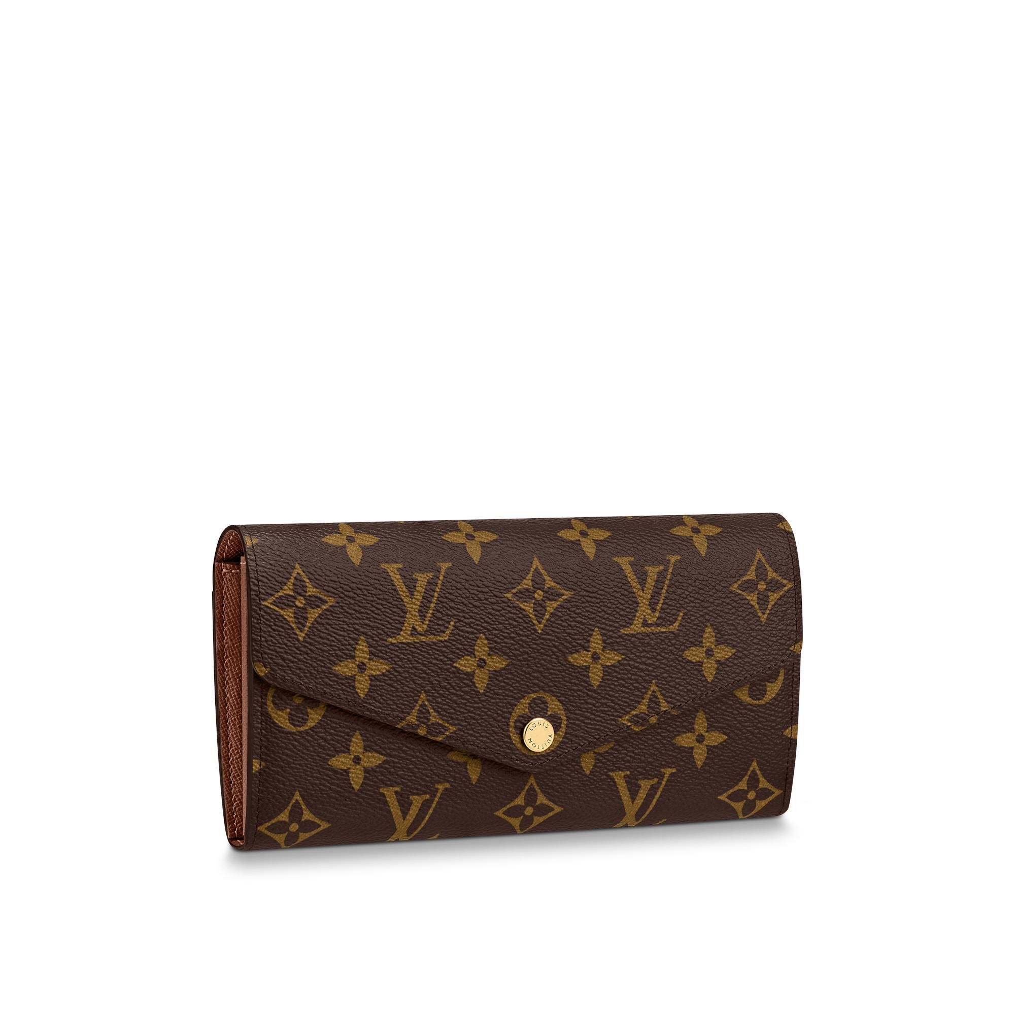Sarah Wallet Monogram Canvas  SMALL LEATHER GOODS  LOUIS