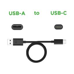 Motorola Data/Charging Cable USB-A to USB-C — Black