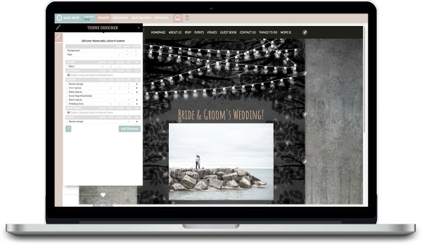 Personalise your Wedding Website & Digital Invitations