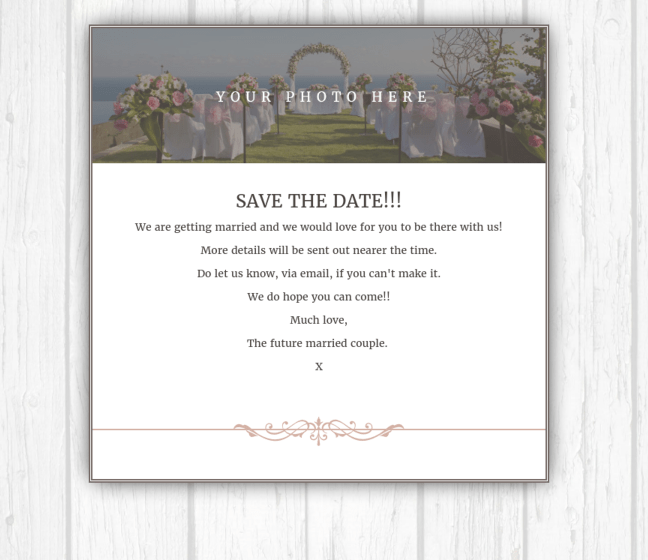 Email Wedding Invitations And Wedding Website You Design