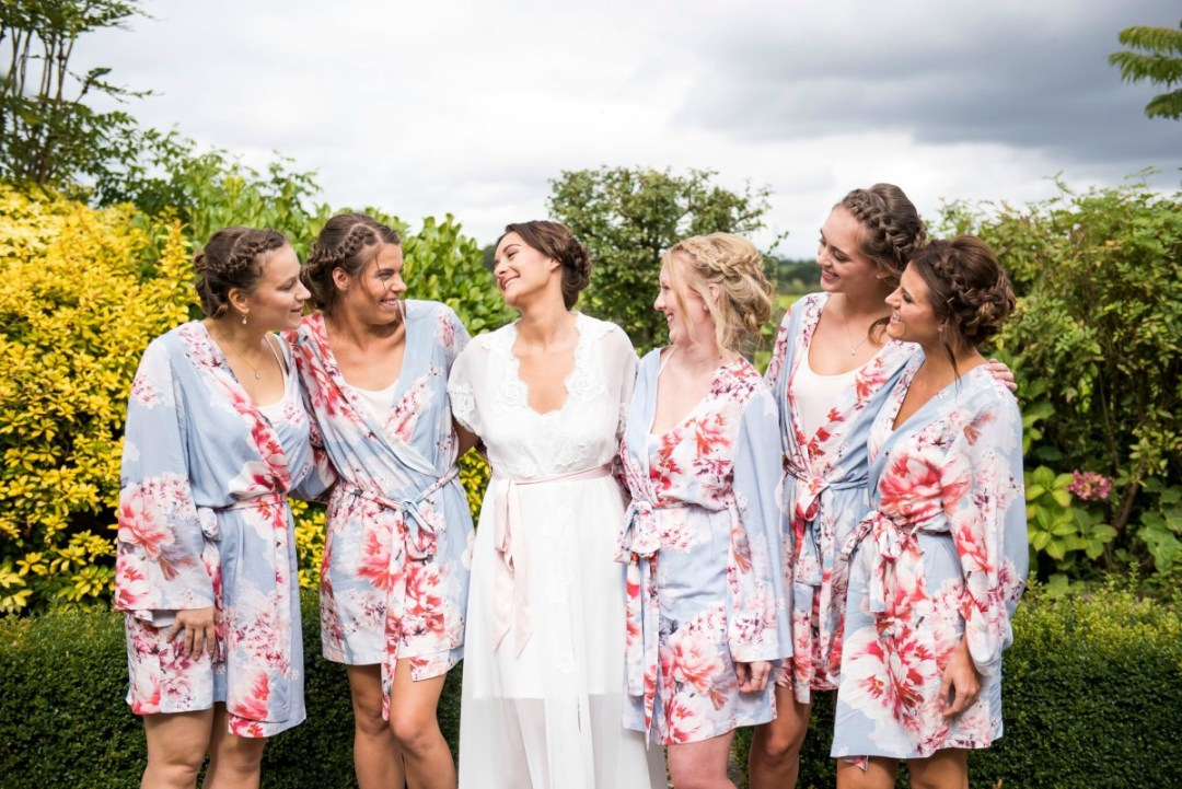 Jessica Grace Photography - Bride and bridesmaids