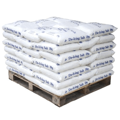 CML White De-Icing Salt - Pallet of 42 Large Bags