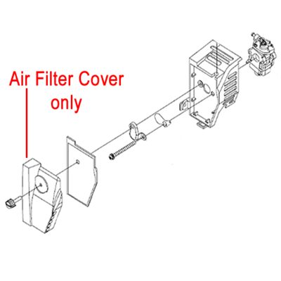 Mitox Mitox Replacement Air Filter Cover MI1E34FB.6-1