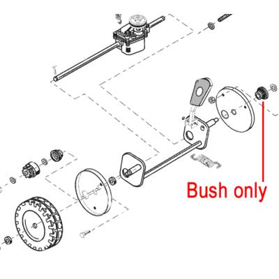 AL-KO AL-KO Rear Axle Wheel Bush 530375