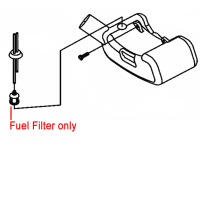 Mitox MITOX Replacement Fuel Filter (MIP40.12.2-3A