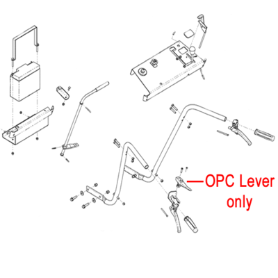 DR DR Replacement opc Lever and Harness (DR180591)