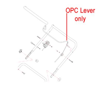 Gardencare Gardencare OPC Lever LM46P Lawnmower GCWORD18.6.1