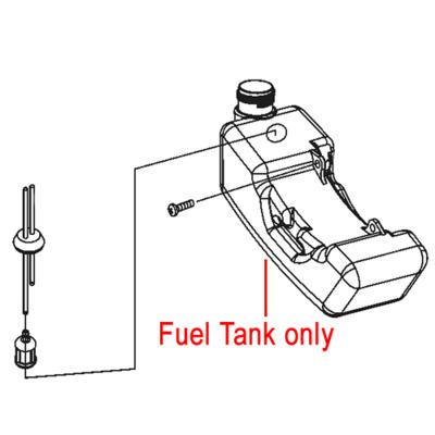 Mitox Mitox 43U 430U Fuel Tank MI1E40F-5A.4.1
