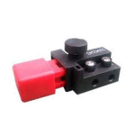 Flymo Flymo Switch (Red Cap) fits Microlite, Turbo, Vision, Venturer p/n 5227209-01/1
