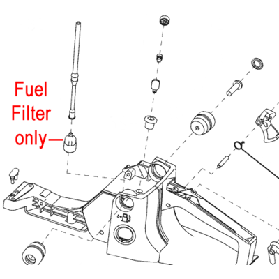 Mitox Mitox Chainsaw Fuel Filter MIYD45.03.03-00
