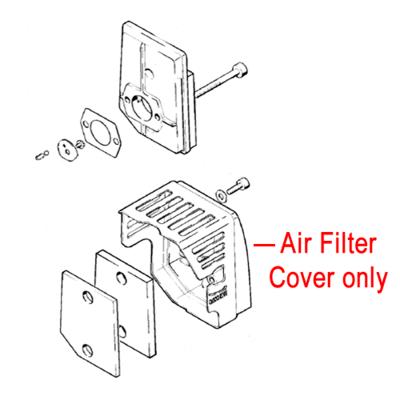 Stihl Stihl Air Filter Cover Leaf Blower Vacuum 4241 140