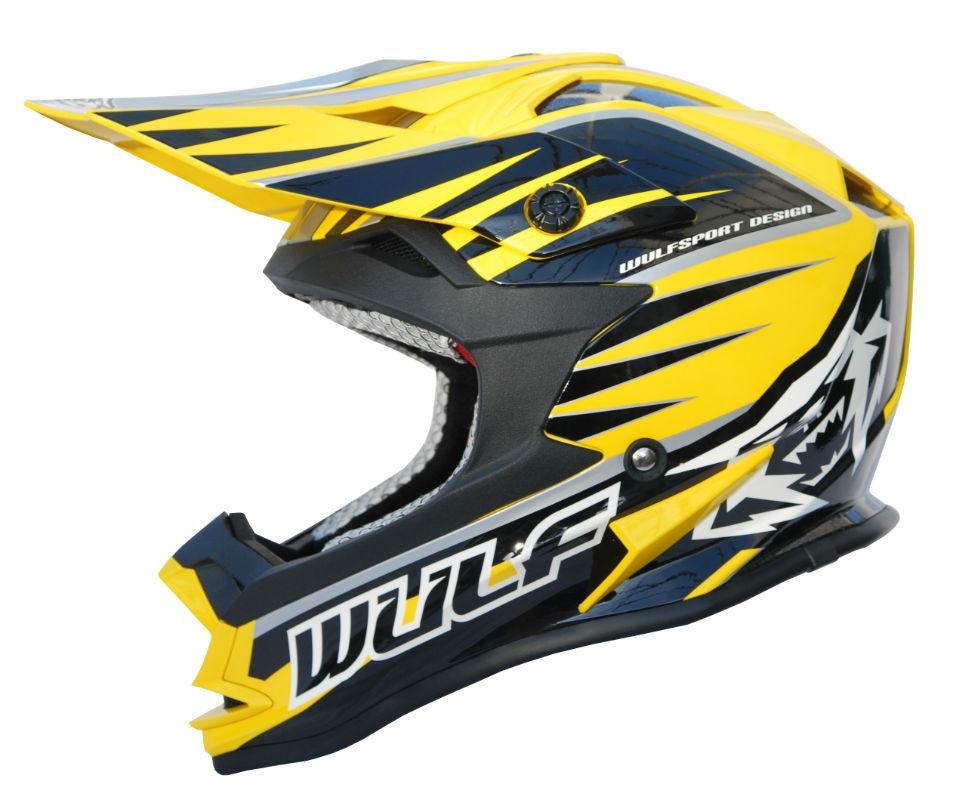 Wulfsport Advance Yellow/Black