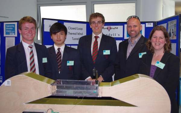 Wind Tunnel Project Earns -level Pupils Top South West