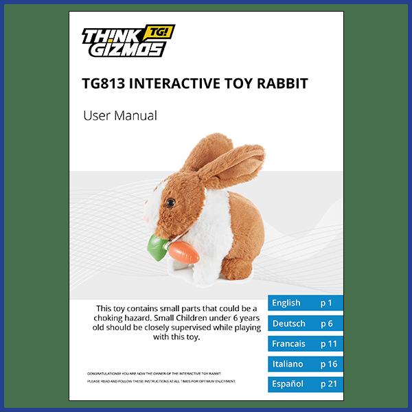 Interactive Pet Toy Rabbit