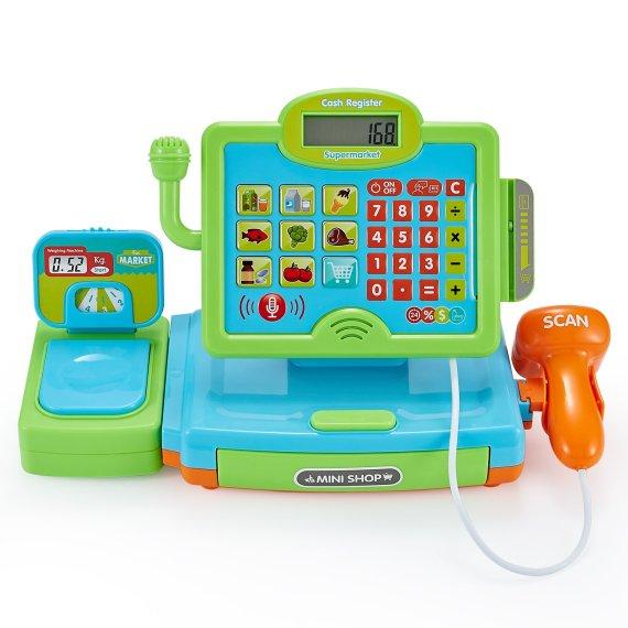Toy cash register checkout till