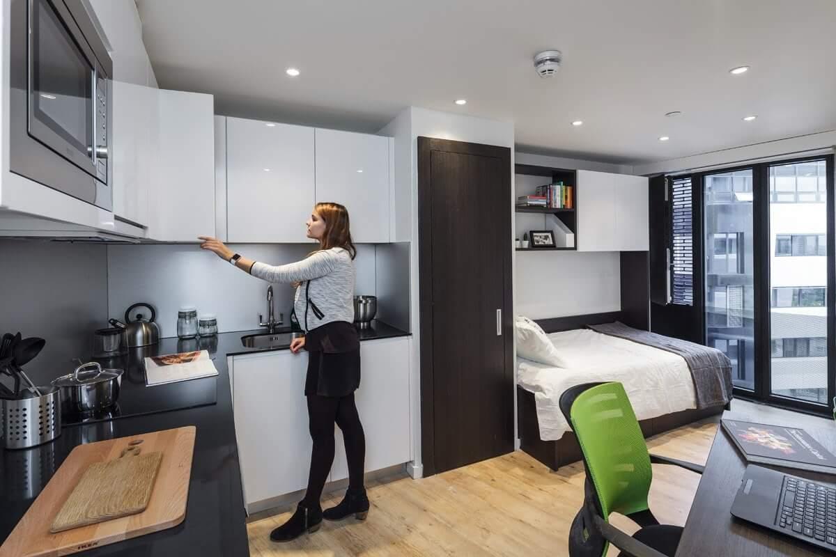 Modern Small Flat Interior Design