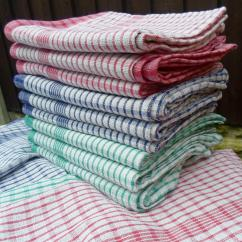 Kitchen Towel Cabinetry Super Absorbent Tea Towels Vision Textiles Coloured Superdry Check