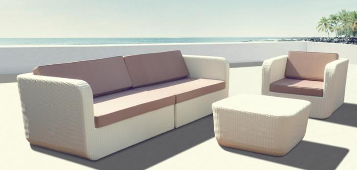 Jual Sofa Rotan Sintetis Furniture Jepara Minimalis 0896