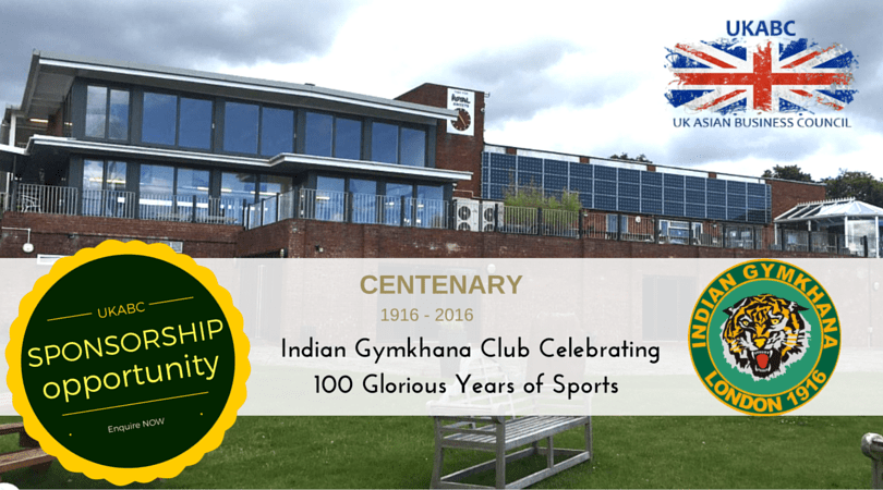 UKABC Presents Sponsorship Opportunity at Indian Gymkhana Club, London