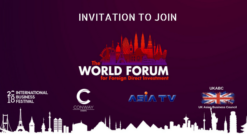 World Forum for Foreign Direct Investment conference – Register before May 28th to attend the 2018 World Forum!