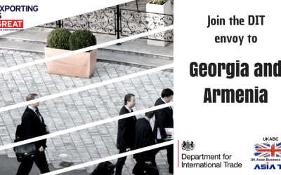 UKABC Invites you to Join the DIT envoy to Georgia and Armenia – Starting 4th June 2018