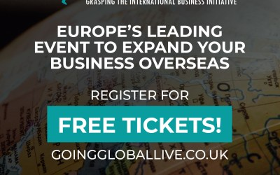 UK's Number 1 Event : Going Global, London ExCeL on the 27th & 28th of November 2019 – Apply for Free Tickets