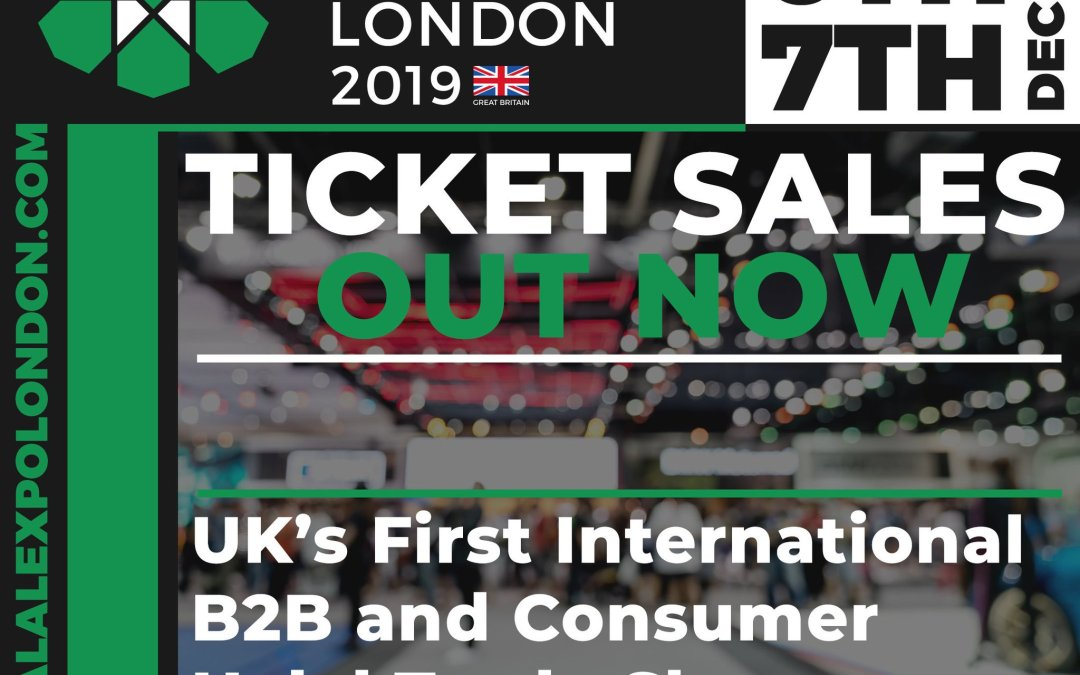 Halal Expo London 5, 6 & 7 December 2019 – ExCel London, UK's First International Halal B2B & Consumer Trade Show – Free Tickets – Book Now