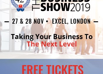 Europe's largest business exhibition – The Business Show –  London's ExCeL, on the 27th & 28th of November 2019