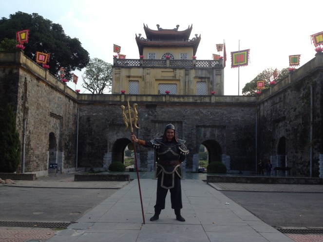 And myself standing outside the Imperial Citadel as a Warrior