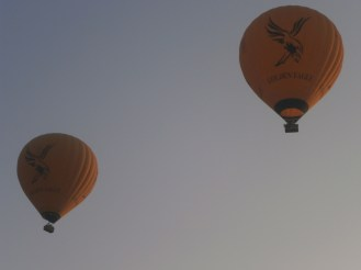 So... these hot-air balloons are truly real and I've seen them by my own eyes