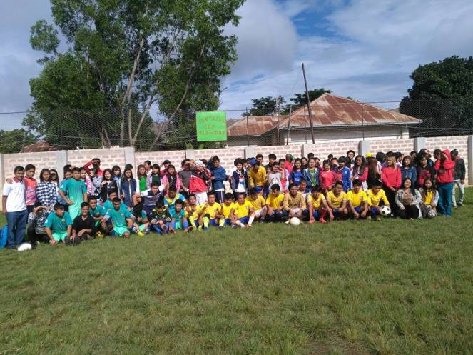 After the successful football matches of the S.A.G. students (1)
