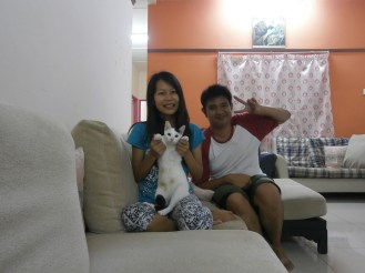 I, Phyu Phyu and her adorable Whitey!
