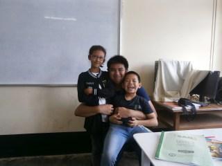 With my cute Lin Latt and Seng Naw (1)
